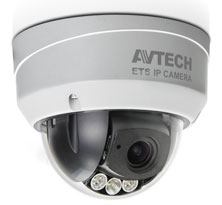 AVM-542 IP DOME CAMERA