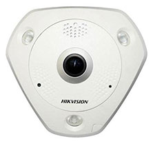 DS-2CD6332FWD-IS HD TVI 3MP WDR FISHEYE DOME CAMERA